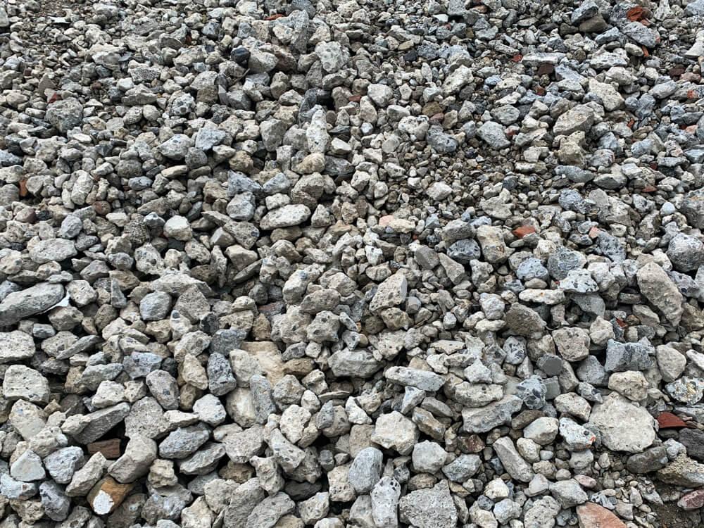 Vente de matériaux recyclés - concassé béton 0/80 (D31) chez Helfaut Travaux