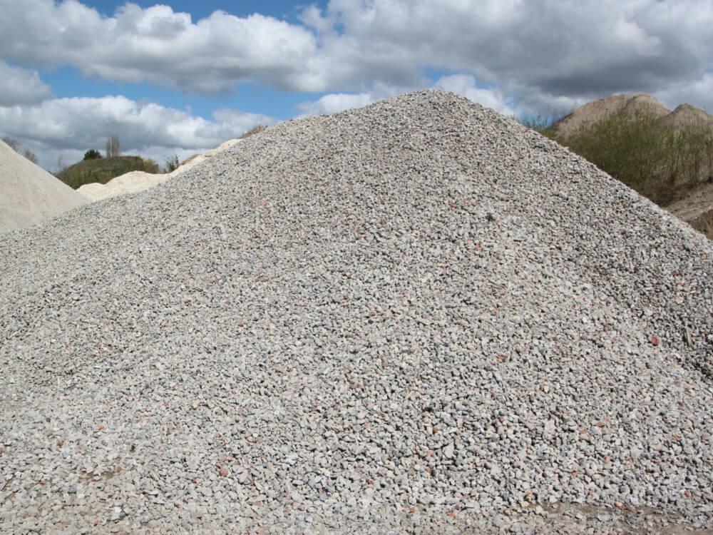 Vente de matériaux recyclés - Concassés Béton 20/40 - Drainant - Helfaut Travaux